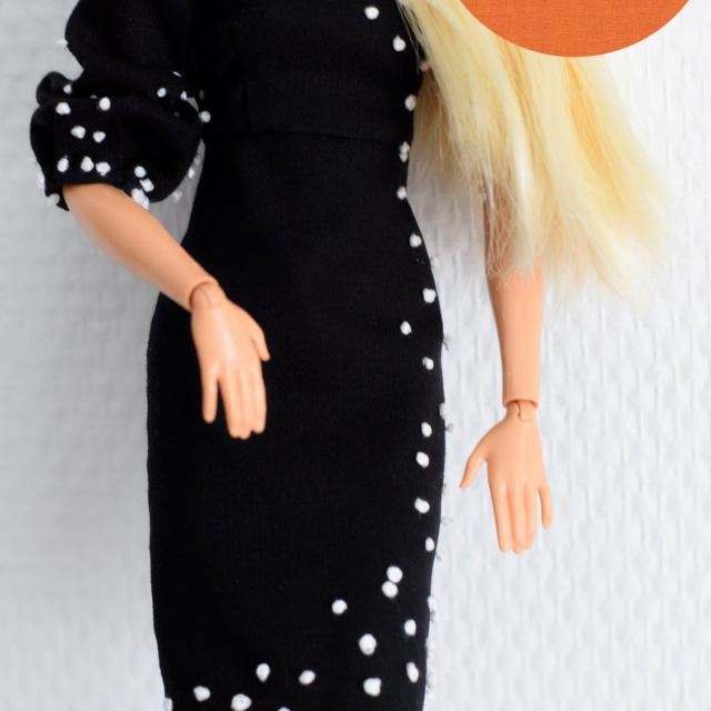 barbie dress sewing pattern